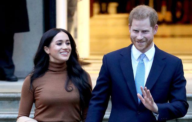 Meghan Markle et le prince Harry, ici à Londres le 7 janvier