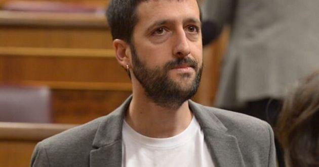Juanma del Olmo, en el