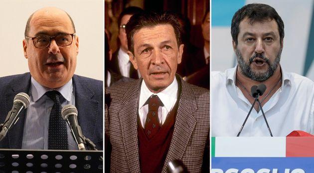 Zingaretti/Berlinguer/Salvini