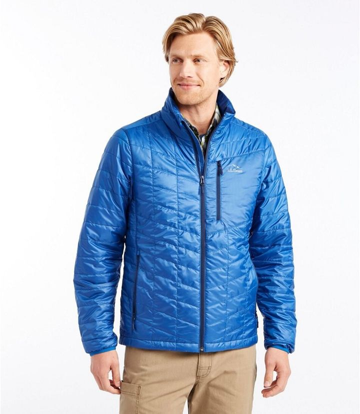 """The <a href=""""https://fave.co/2T4idj3"""" target=""""_blank"""" rel=""""noopener noreferrer"""">PrimaLoft Packaway Jacket</a> has a completely recycled polyester shell and lining, plus Primaloft, which is a down-alternative insulation."""
