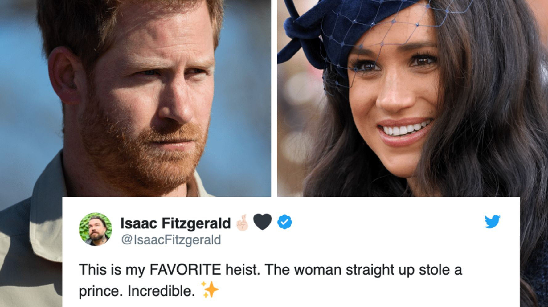 Westlake Legal Group 5e1639ce24000059345a5519 Read The Wild Reactions To Meghan Markle, Prince Harry Stepping Down