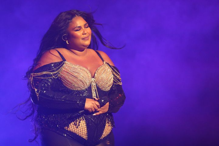 Jillian Michaels is getting backlash for clearly not understanding why so many people love Lizzo precisely for who she is - Lizzo pictured here performing at Sydney Opera House on January 06, 2020.