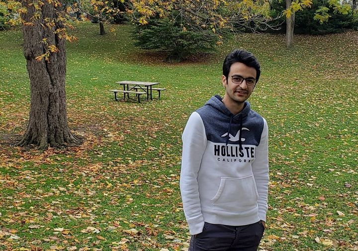 Mehdi Eshaghian was travelling back from Iran with his friend. Eshaghian was a student at McMaster University.