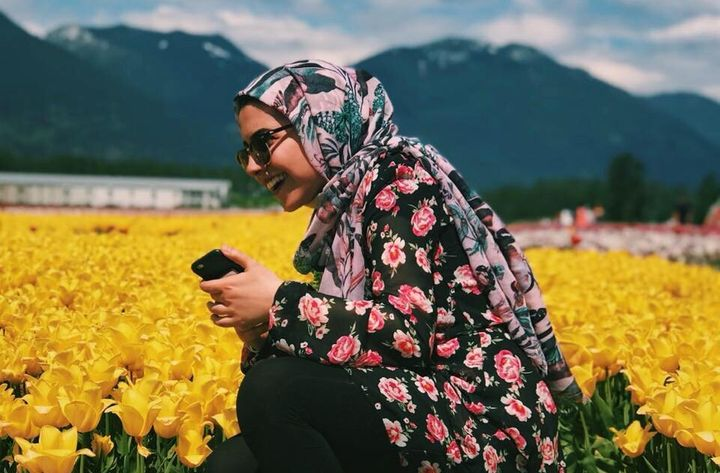 Zeynab Asafi Lari pictured in Chilliwack, B.C. in a photo taken by her brother Mohammad.