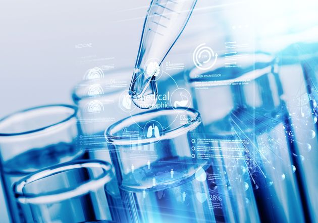 Blood test laboratory analysis microbiology research