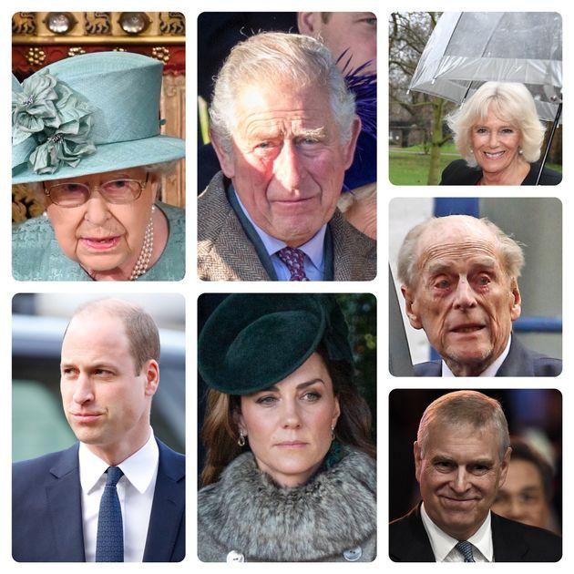 英国王室のシニアメンバー