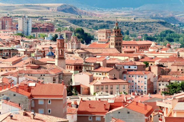 Vista general de Teruel, en una imagen de