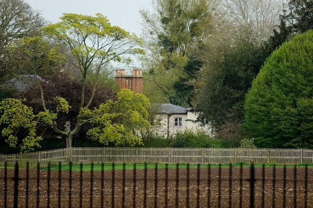 Frogmore Cottage, the new home of Prince Harry and