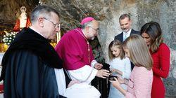 El arzobispo de Oviedo pide a 'la Santina' de Covadonga que