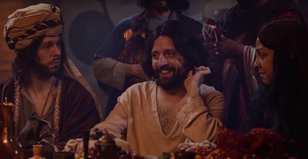 Escena del sketch 'Amigo secreto de Jesús', de Porta dos