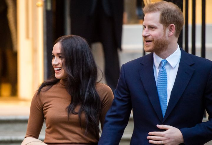 Prince Harry and Meghan Markle have announced they are 'stepping back' from the royal family.