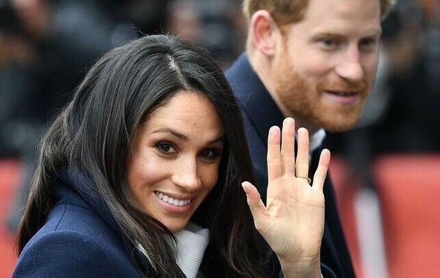 Príncipe Harry y Meghan