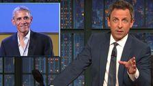 Seth Meyers Präsentiert Neuen US-Threat Level Meter Mit Obama ohne Hemd