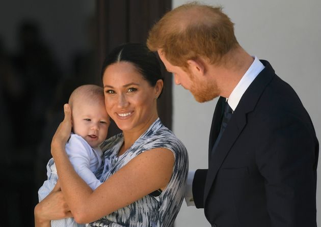 Harry and Meghan and their son Archie visit Cape Town, South