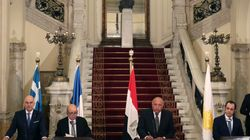 Kαταδίκη της συμφωνίας Τουρκίας- Λιβύης στη συνάντηση Ελλάδας- Κύπρου- Αιγύπτου- Γαλλίας- Ιταλίας στο