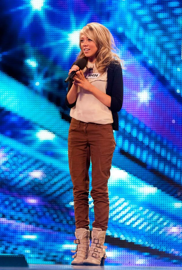 Paige on Britain's Got Talent in