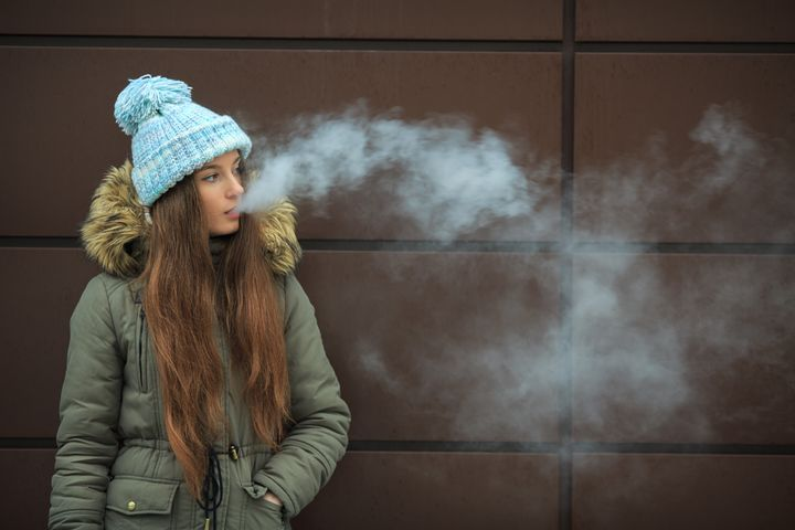 Youth vaping is on the rise.