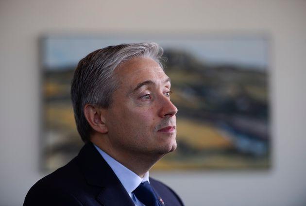 Foreign Affairs Minister Francois-Philippe Champagne is pictured at headquarters in Ottawa on Dec. 20,