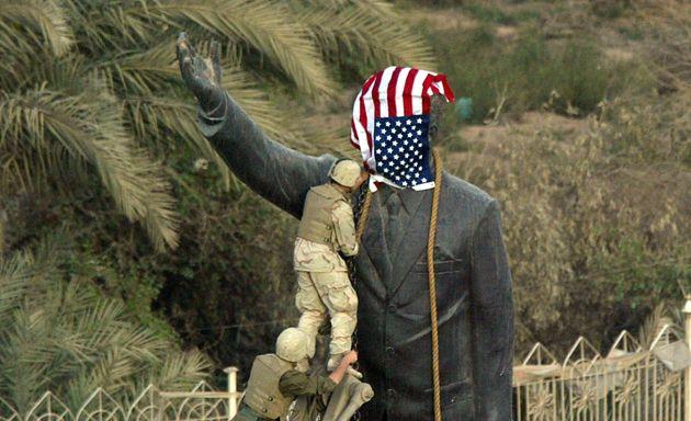 En 2003, dans le contexte de l'après 11-Septembre, les Américains ont reversé le régime de Saddam Hussein...
