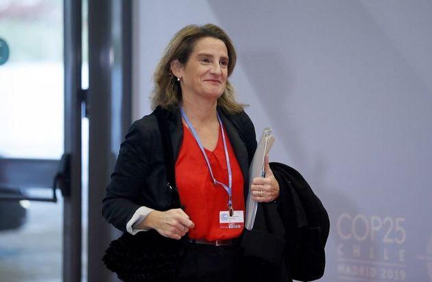 Teresa Ribera, en la COP de