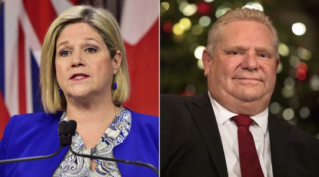 Ontario NDP Leader Andrea Horwath says Premier Doug Ford should pay attention to the wildfires burning...