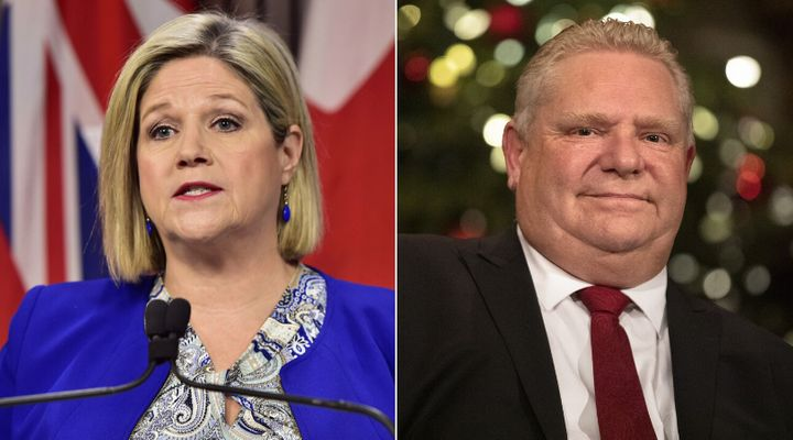 Ontario NDP Leader Andrea Horwath says Premier Doug Ford should pay attention to the wildfires burning through Australia.