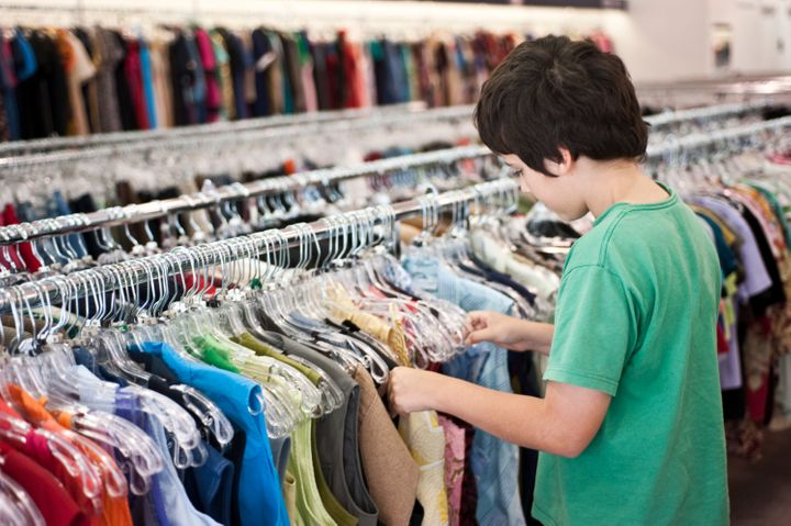 Show your kid that shopping second-hand can be fun!