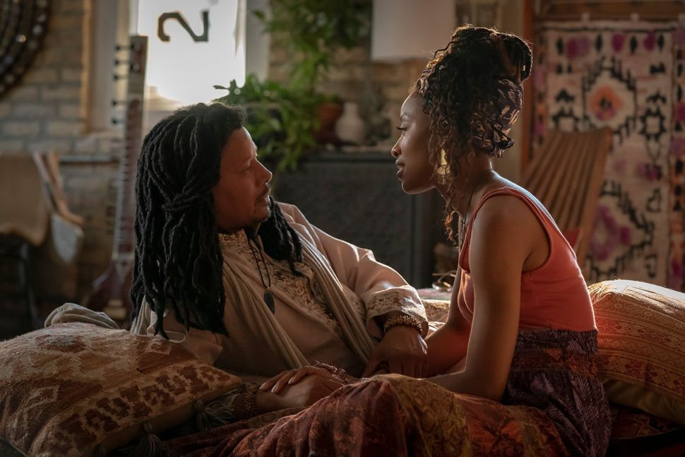 "Terrence Howard and Kiandra Richardson in the sixth season premiere of ""Empire"" in September 2019."