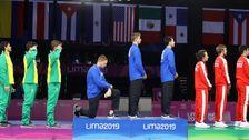 トップオリンピック委員会の問題の禁止政治的身振りの中で2020年までのゲーム