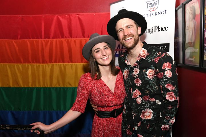 Longtime pals Creel and Sara Bareilles performed at the Stonewall Inn in 2019 and begin performances in the London production