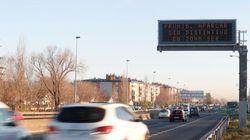 Protocolo anticontaminación en Madrid: la limitación de 70 km/h en la M-30 y los accesos sigue este