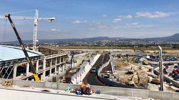 Αεροδρόμιο Μακεδονία: ένα κατασκευαστικό έργο –
