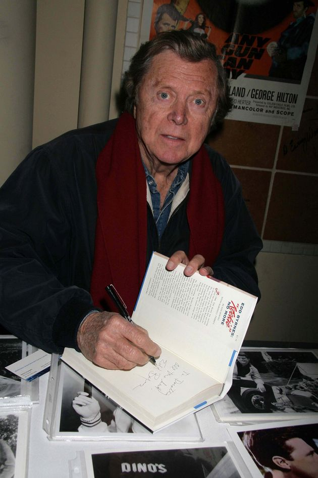 Edd at a book signing in his later