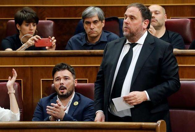 Oriol Junqueras, exvicepresidente de la