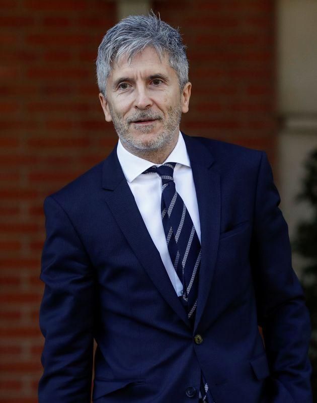 Fernando Grande-Marlaska, el día de su estreno en el Consejo de Ministros, en