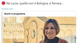 Borgonzoni annuncia un evento a Bologna, ma la foto raffigura
