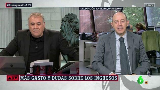 Gonzalo Bernardos, economista y colaborador de 'Al Rojo