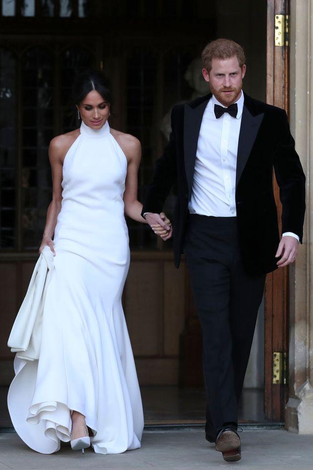 Η Μέγκαν με φόρεμα του...