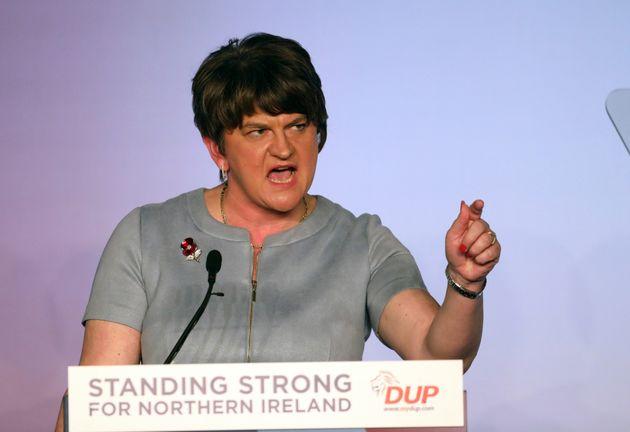 Democratic Unionist Party leader Arlene