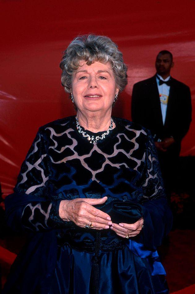 Du côté des femmes, c'est l'actrice Shelley Winters (1920-2006) qui mène...