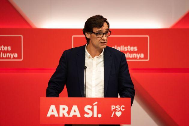 El secretario de organización del PSC, Salvador