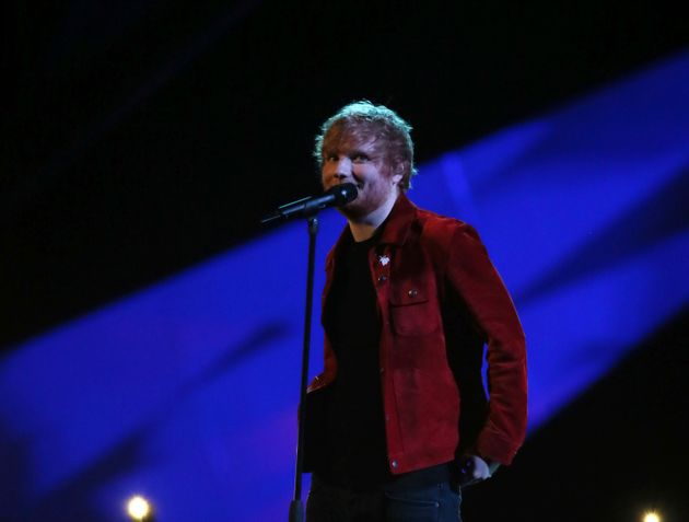 Ed Sheeran has received just one nomination this year for his Justin Bieber collaboration I Don't