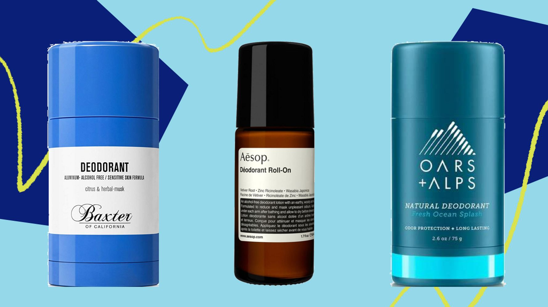 The Best Men's Natural Deodorants For 20   HuffPost Life