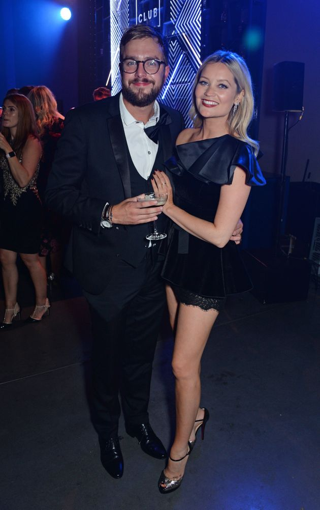 Laura with boyfriend Iain