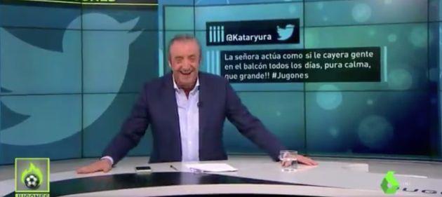 Josep Pedrerol, presentador de 'Jugones'