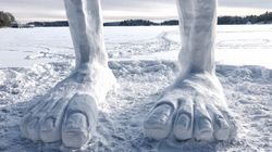 ▶ Check Out Ontario Snow Sculptor's Unreal Works Of