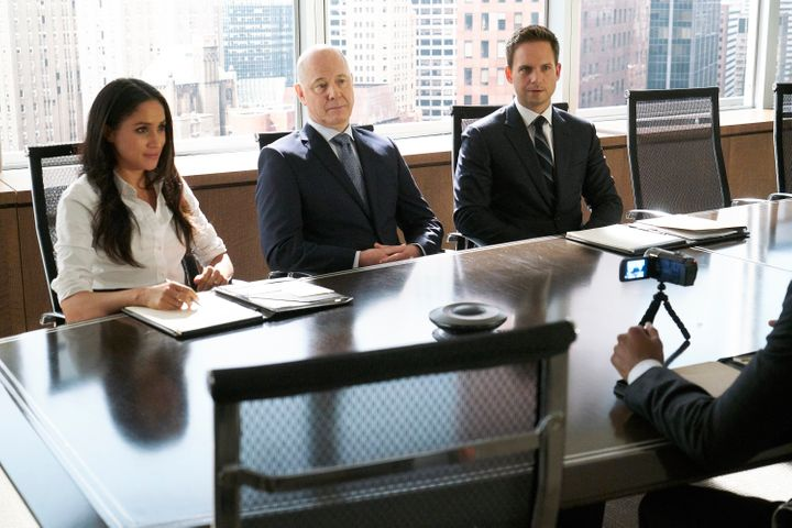 "Meghan Markle as Rachel Zane in ""Suits,"" which was filmed in Toronto."
