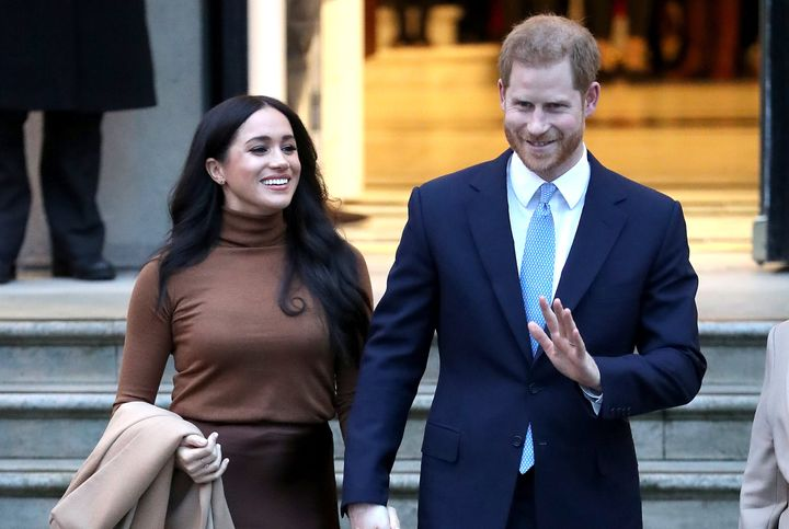 Prince Harry and Meghan Markle announced on Wednesday they would be stepping back from some of their royal duties.