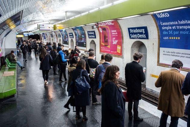 Pour les 38e et 39e jours de grève contre la réforme des retraites, la RATP a promis une...