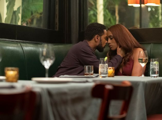 Lakeith Stanfield e Issa Rae en